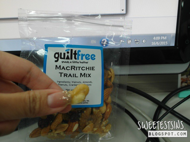 guiltfree macritche trail mix mid day snack