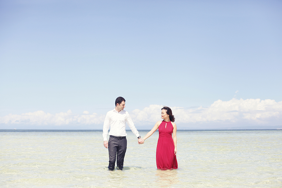 Omar and Xiaowen Nalusuan Island Cebu Engagement Session