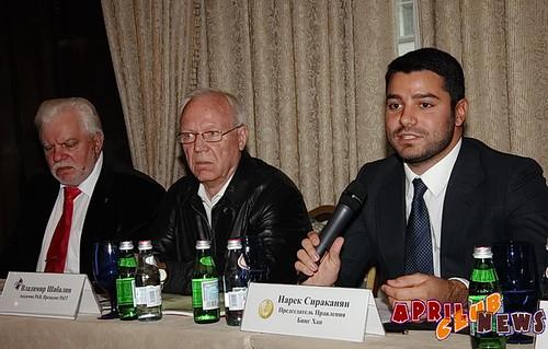 Николай Уколов, Владимир Шабалин, Нарек Сираканян