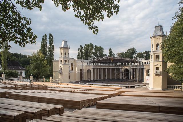 Зелёный театр на ВДНХ.
