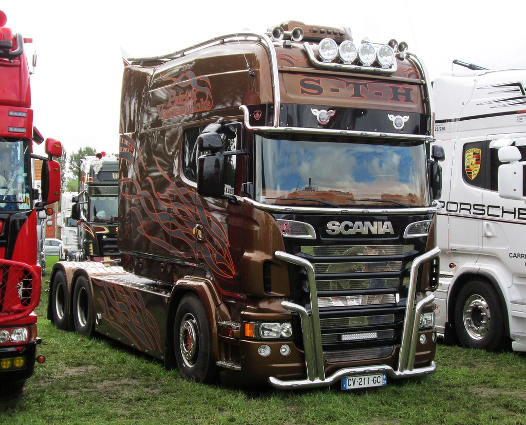 scania longline interieur