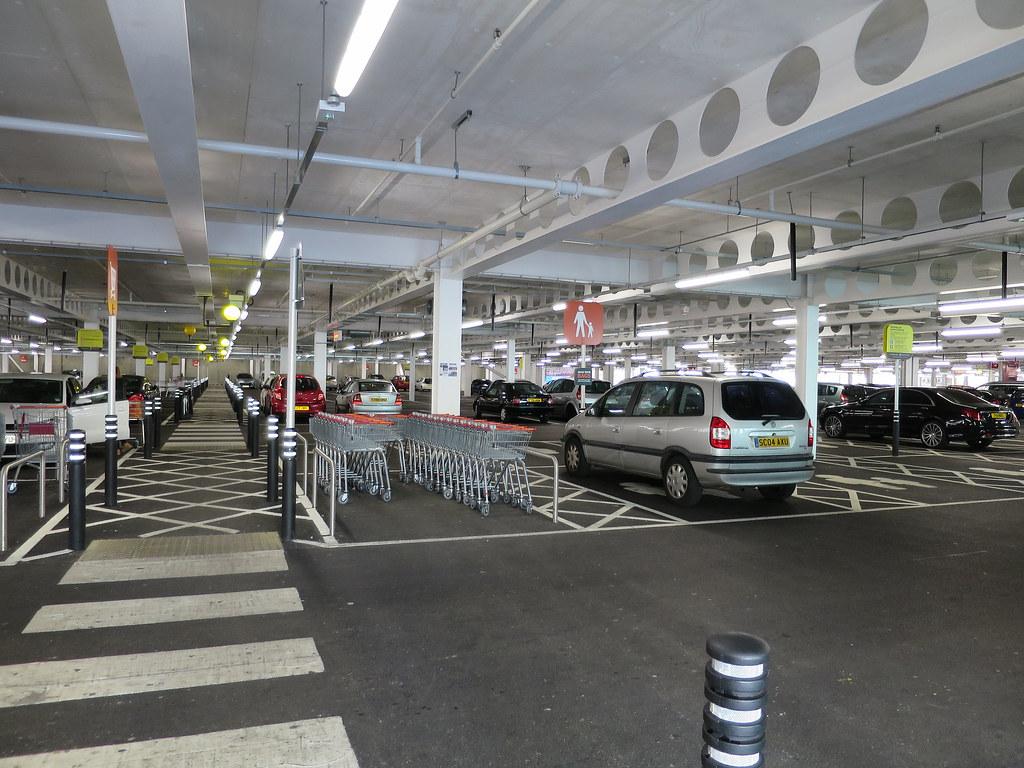 Sainsbury S Car Park Bridgnorth
