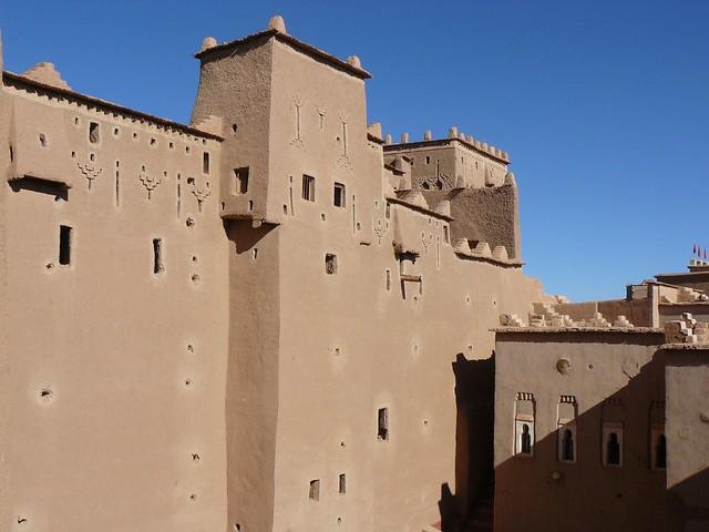 Kasbah de Taourirt en Ouarzazate (Marruecos)