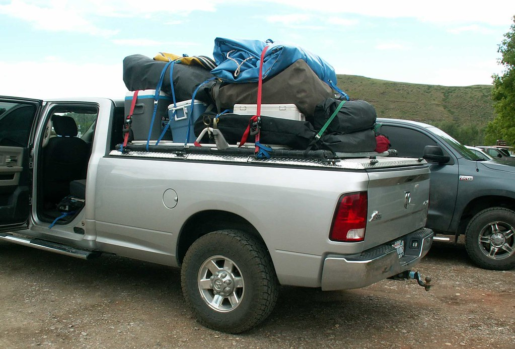 Rafting Cargo On Heavy Duty Truck Bed Cover A 2011 Ram
