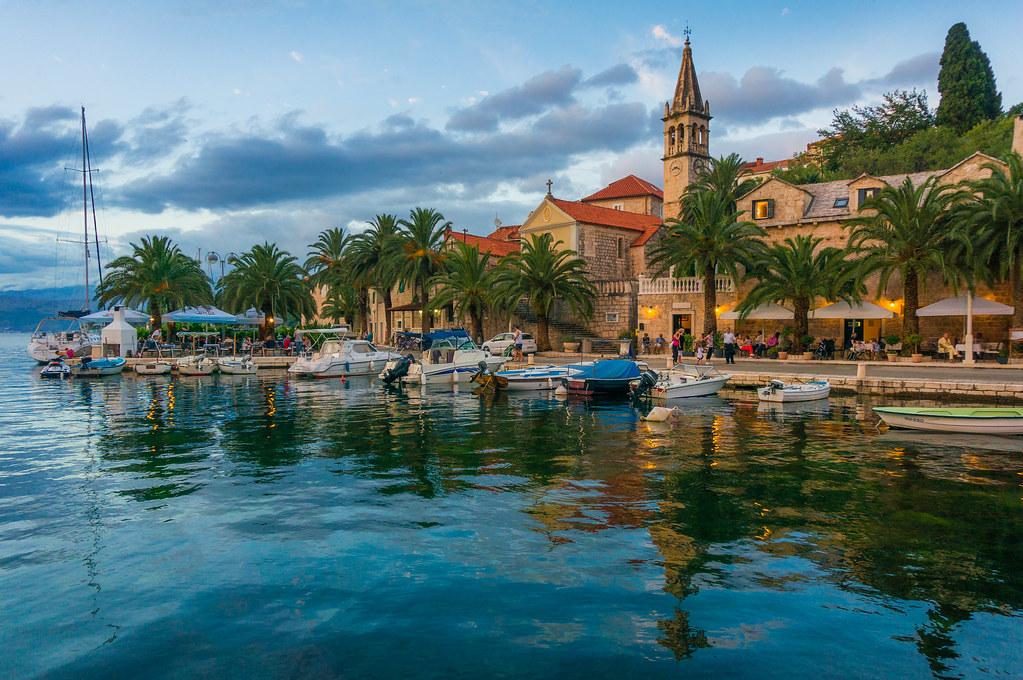 Splitska Village Island Of Brac Croatia Explored Flickr