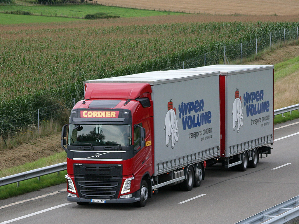 Cordier A3258 Truck New Volvo Fh Drawbar Company