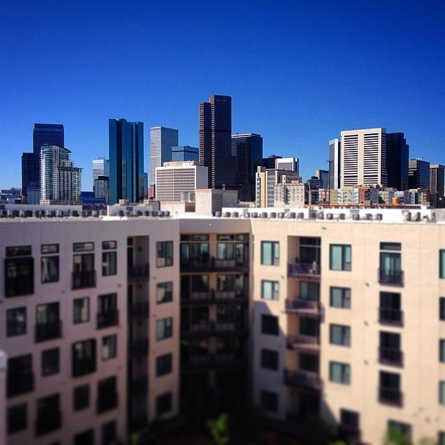 Downtown Denver Skyline. Taken During A Recent Photo Shoot