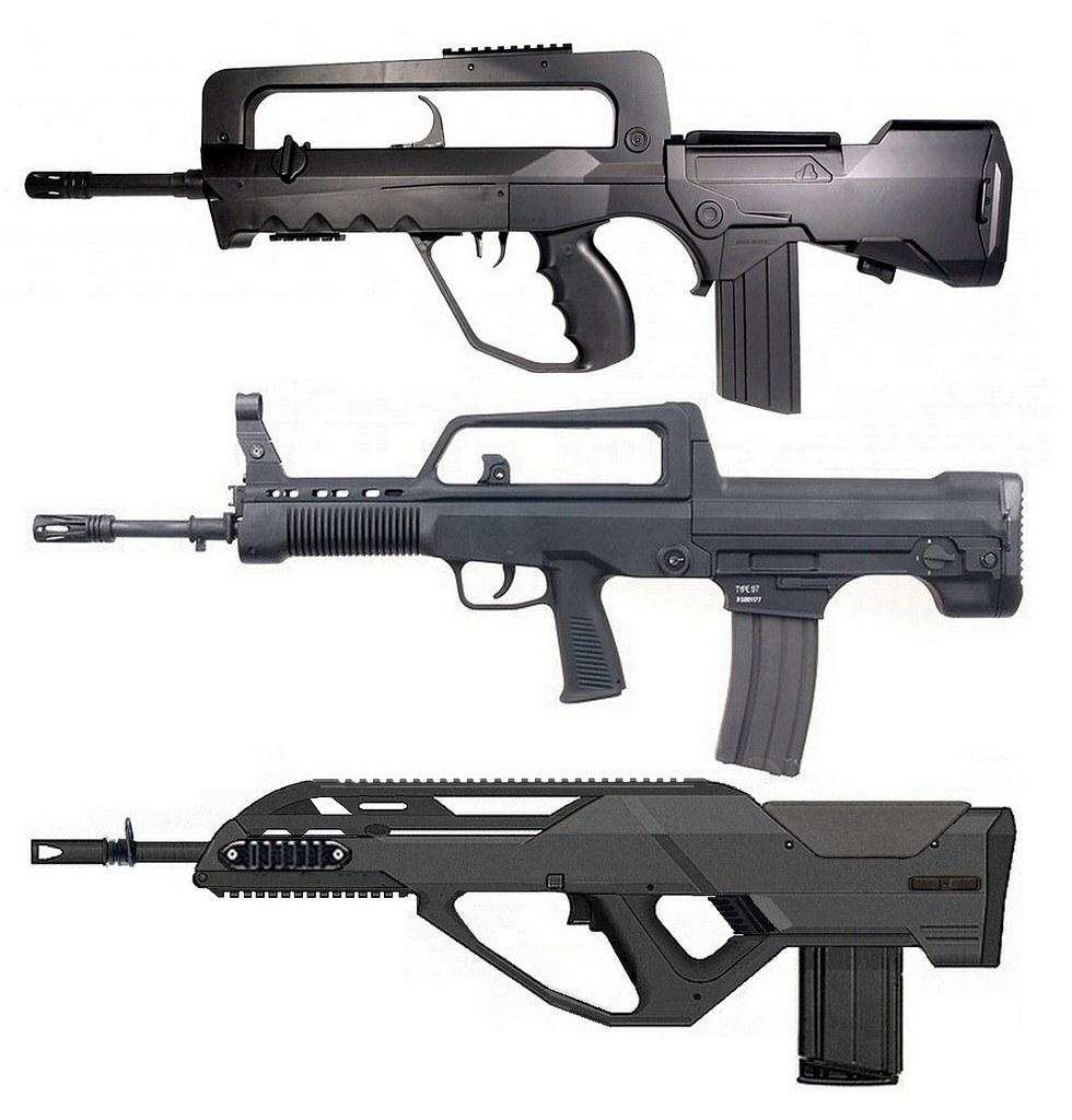 Lady Tac Arms FAMAS F2 vs Norinco QBZ type 97 vs DSK S-CG …   Flickr