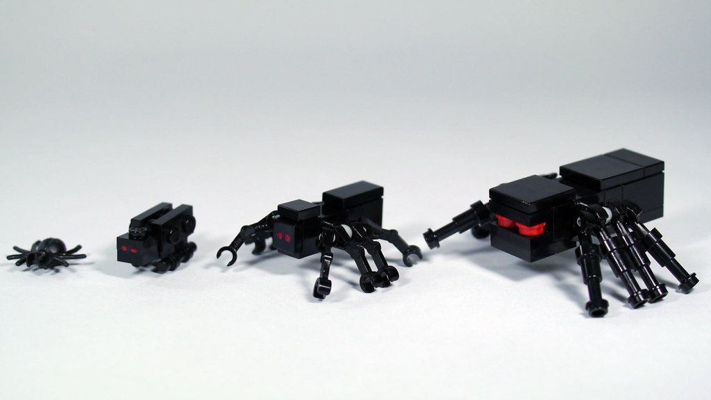 LEGO Minecraft Spiders | See how to build them: www.youtube ...