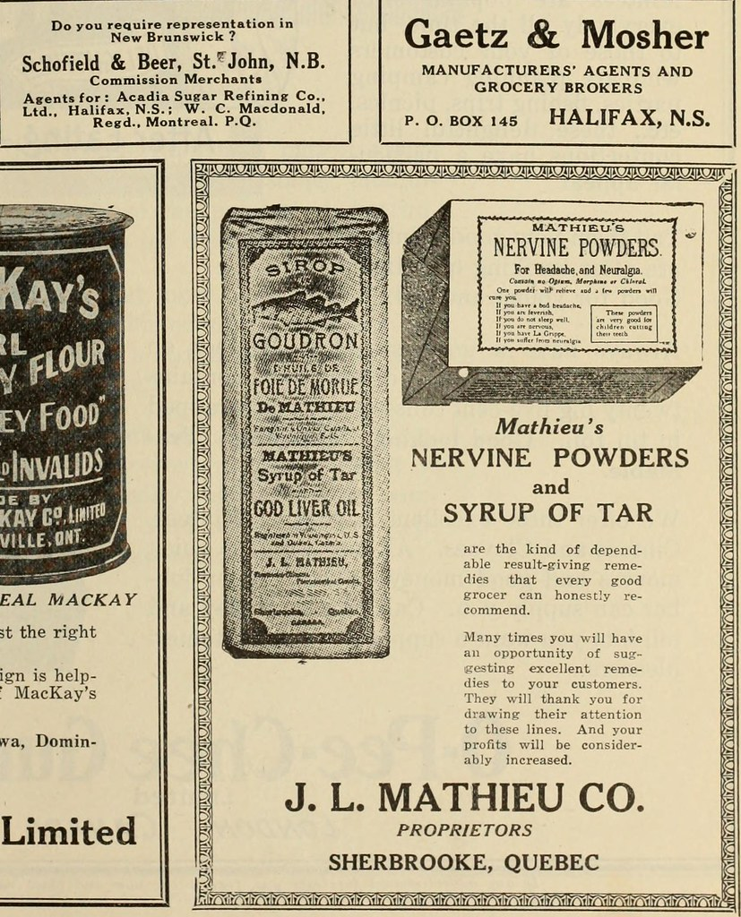"""New Brunswick 468: Image From Page 468 Of """"Canadian Grocer April-June 1918"""