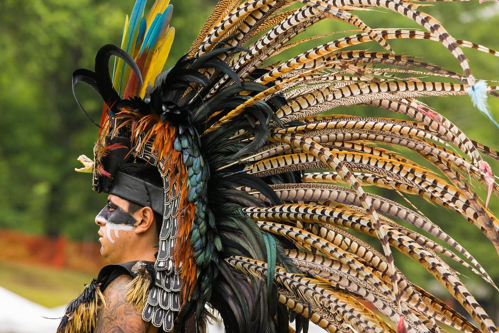 Aztec Warrior Headdress Aztec Mexica Warrior