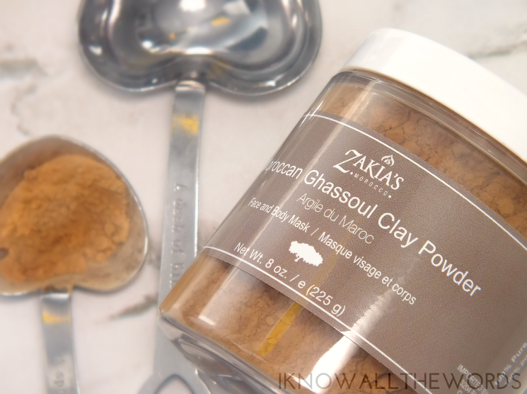 zakia's morocco moroccan ghassoul clay powder mask review (1)