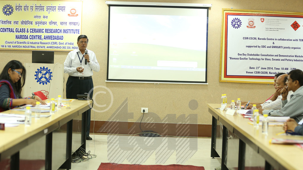 Introduction to TERI-SDC Biomass Project: 'Accelerated Usage of biomass based clean energy solutions' by Mr Amit Kumar, Adjunct Professor- Sustainable Energy, TERI University