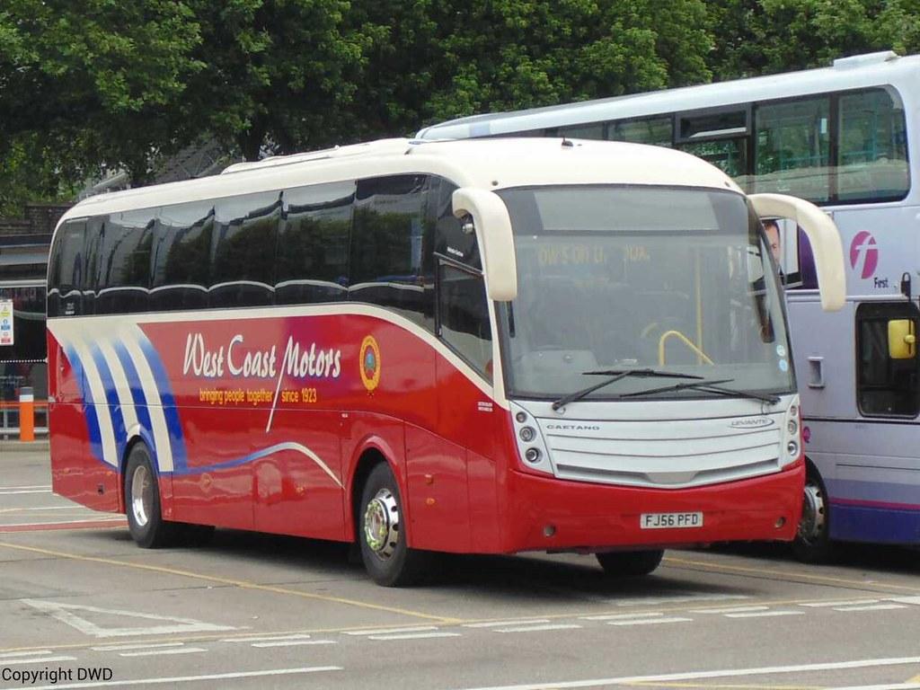 West Coast Motors Fj56 Pfd At Buchanan Bus Stn This