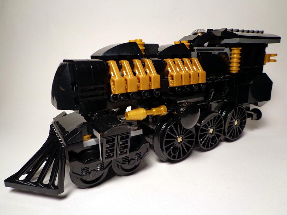 Lego Steampunk Train Steam Express Lego Steampunk
