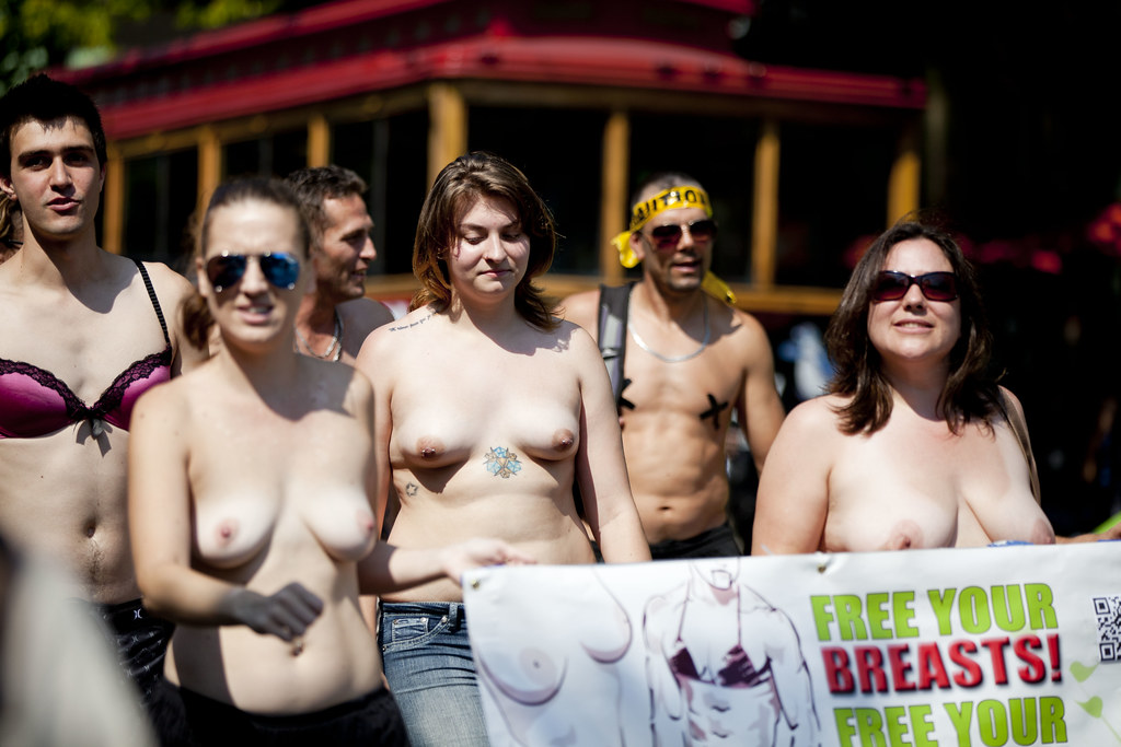 Were Go topless day 2014 where you