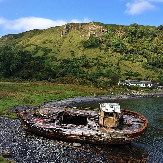 thesis wreck scotland
