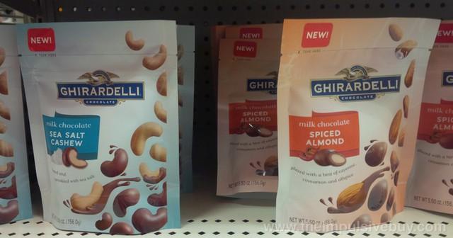 Ghirardelli Milk Chocolate Peppermint Bark Squares
