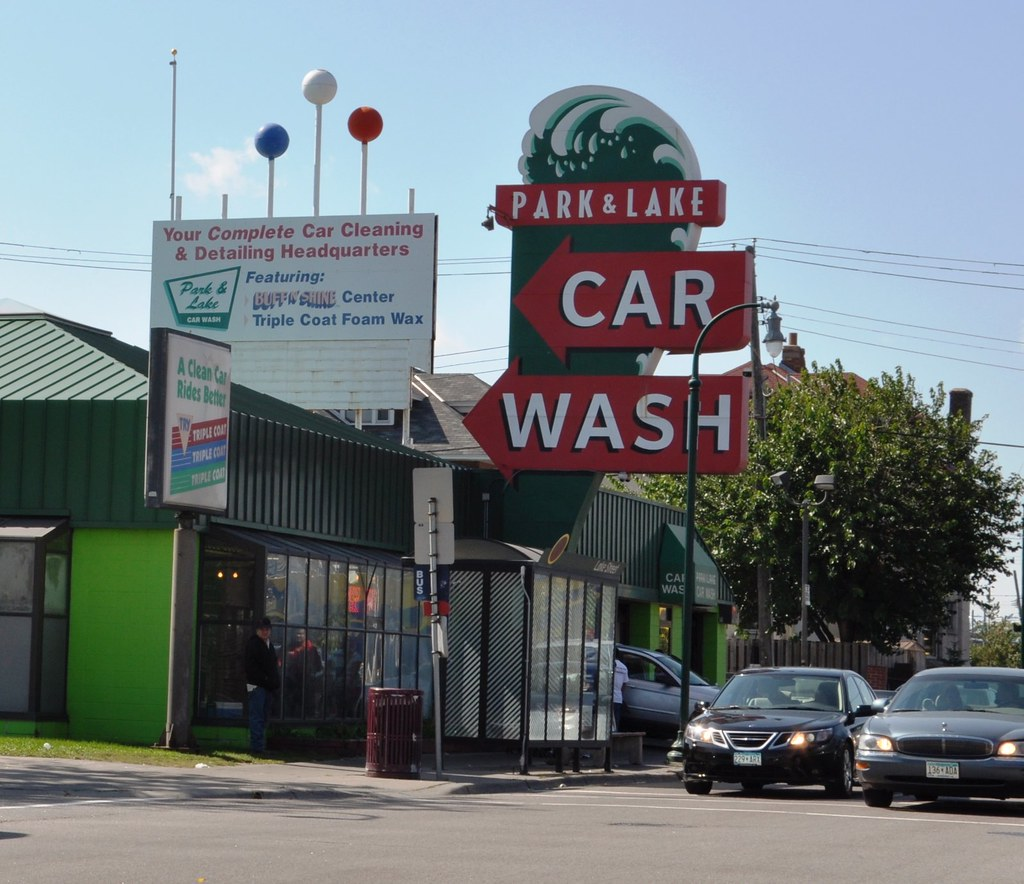 Park & Lake Car Wash, Minneapolis Sept 2014