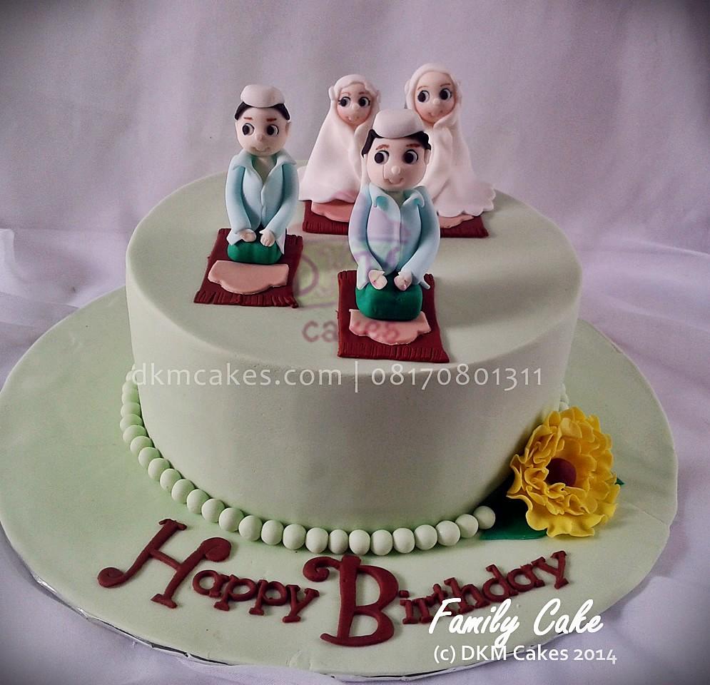 Family Cake Niken Dkm Cakes Nina Septiningtyas Flickr