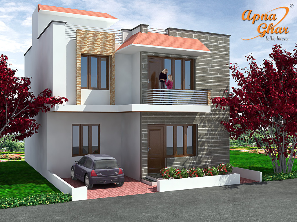 3 bedrooms duplex house design 3 bedrooms duplex house for Bangladesh village house design