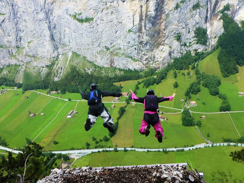 Base jumping LBN