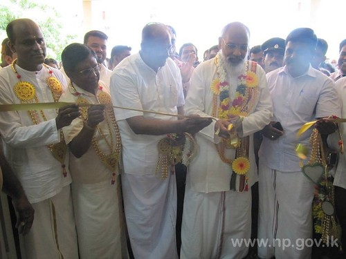Opening Ceremony of Mandaitivu Divisional Hospital – 17 July 2014