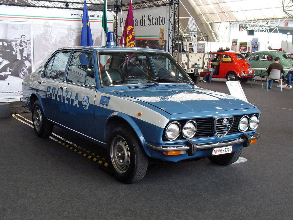 Alfa Romeo Alfetta Polizia Stradale Maurizio Boi Flickr