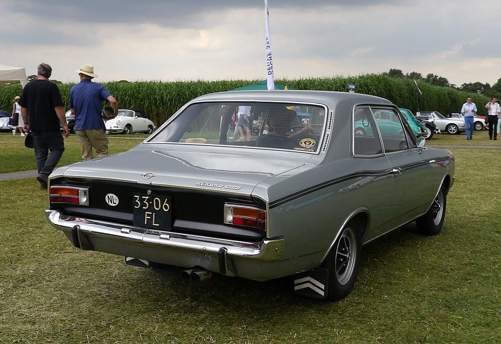 Opel Rekord C 1900 H Sprint 2 T 252 Rige Limousine 1967 71