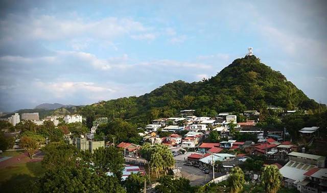 蟾蜍山聚落全景,攝影:Monica;圖片來源:蟾蜍山:老公館 心聚落