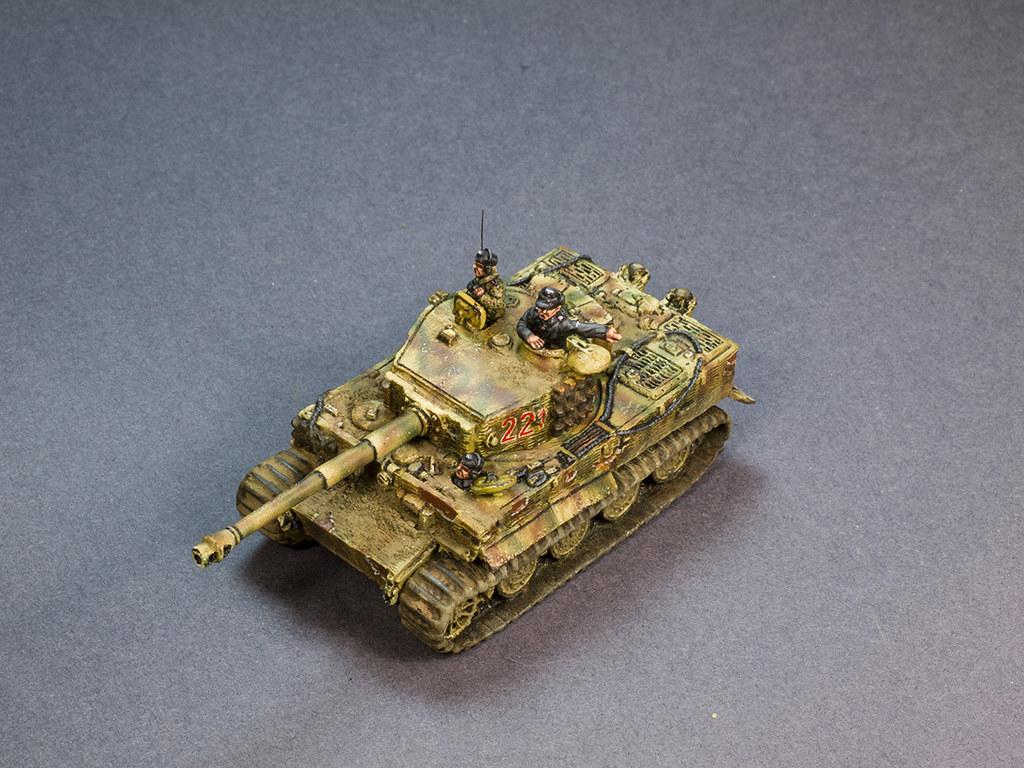 Flames of War Tiger tank hantusch