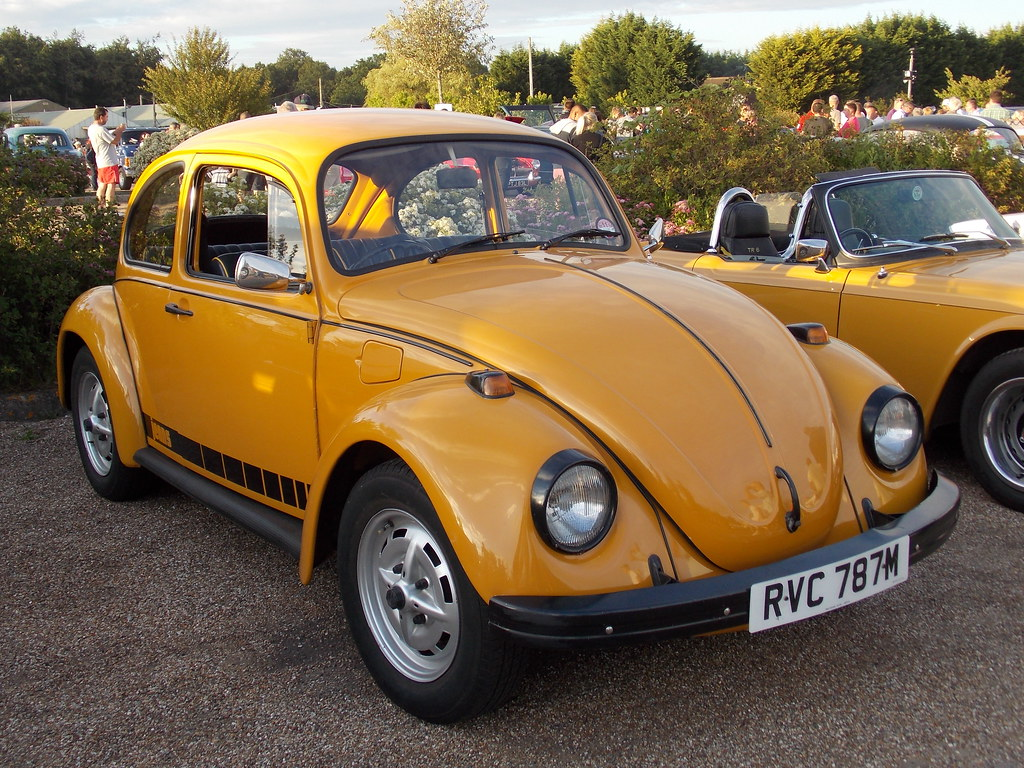 1974 Volkswagen Beetle Jeans This Is A Special Edition