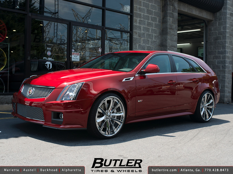 Used Cadillac Cts Coupe >> Cadillac CTS-V Wagon with 22in Asanti CX505 Wheels | Flickr