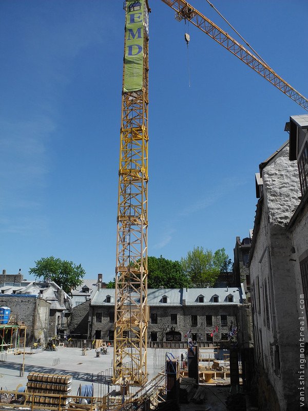 Place Jacques Cartier construction 3