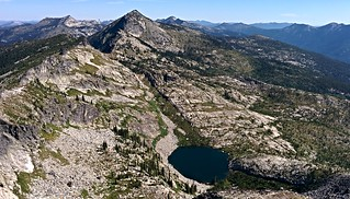 Fault Lake from Hunt Peak