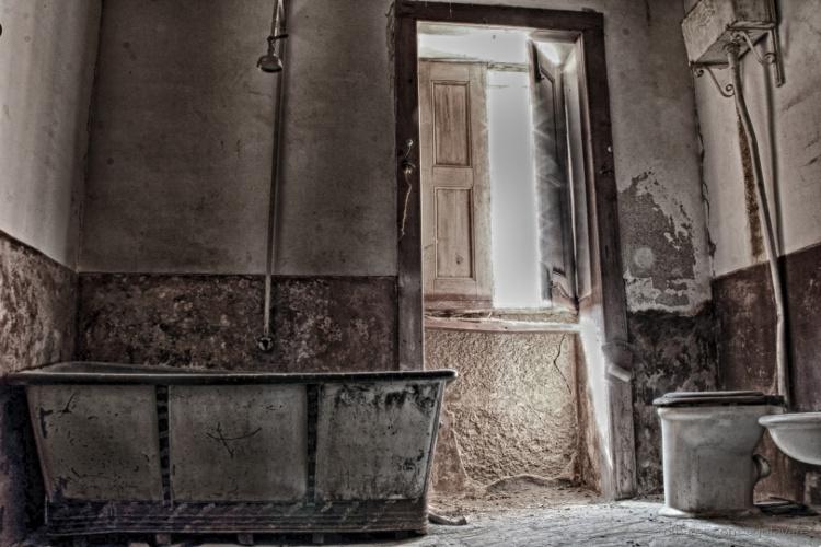 Fotografia em Palavras: Na casa de banho