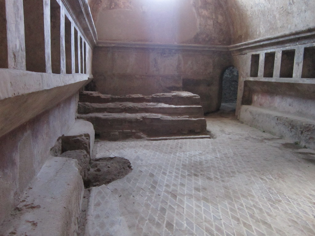 Pompeii Stabian Baths Women S Baths Apodyterium Flickr