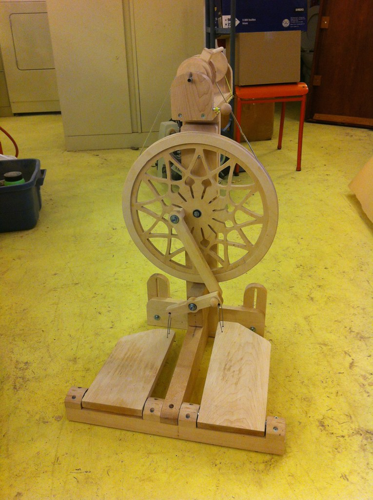 Zephyr Spinning Wheel By John Tribe 2 Woodworking Plans