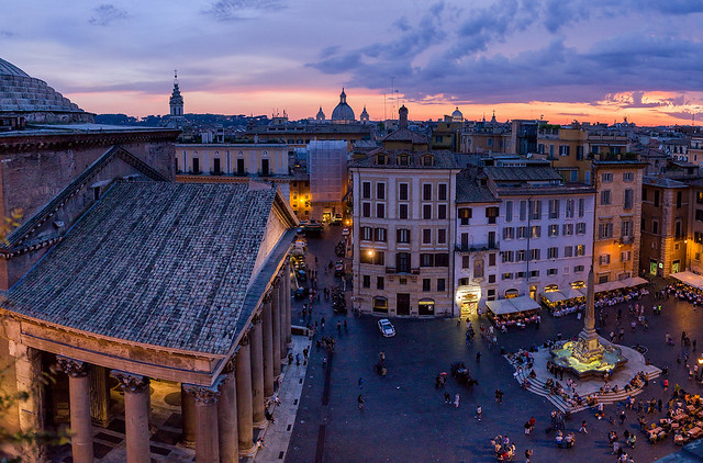 2000 Years of Sunsets | Pantheon, Rome, Italy