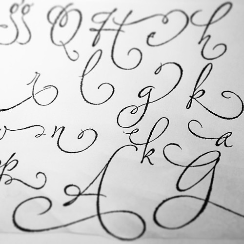 Ruling Pen Font Drafting Style Ruling Pen