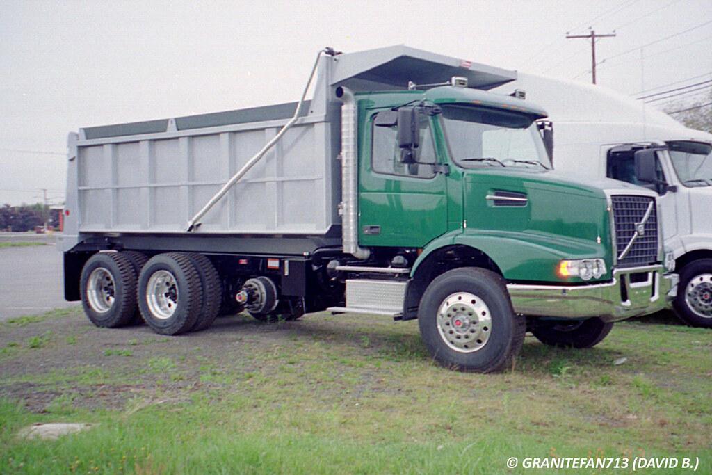 2004 Volvo VHD Tri-Axle Dump | Trucks, Buses, & Trains by granitefan713 | Flickr