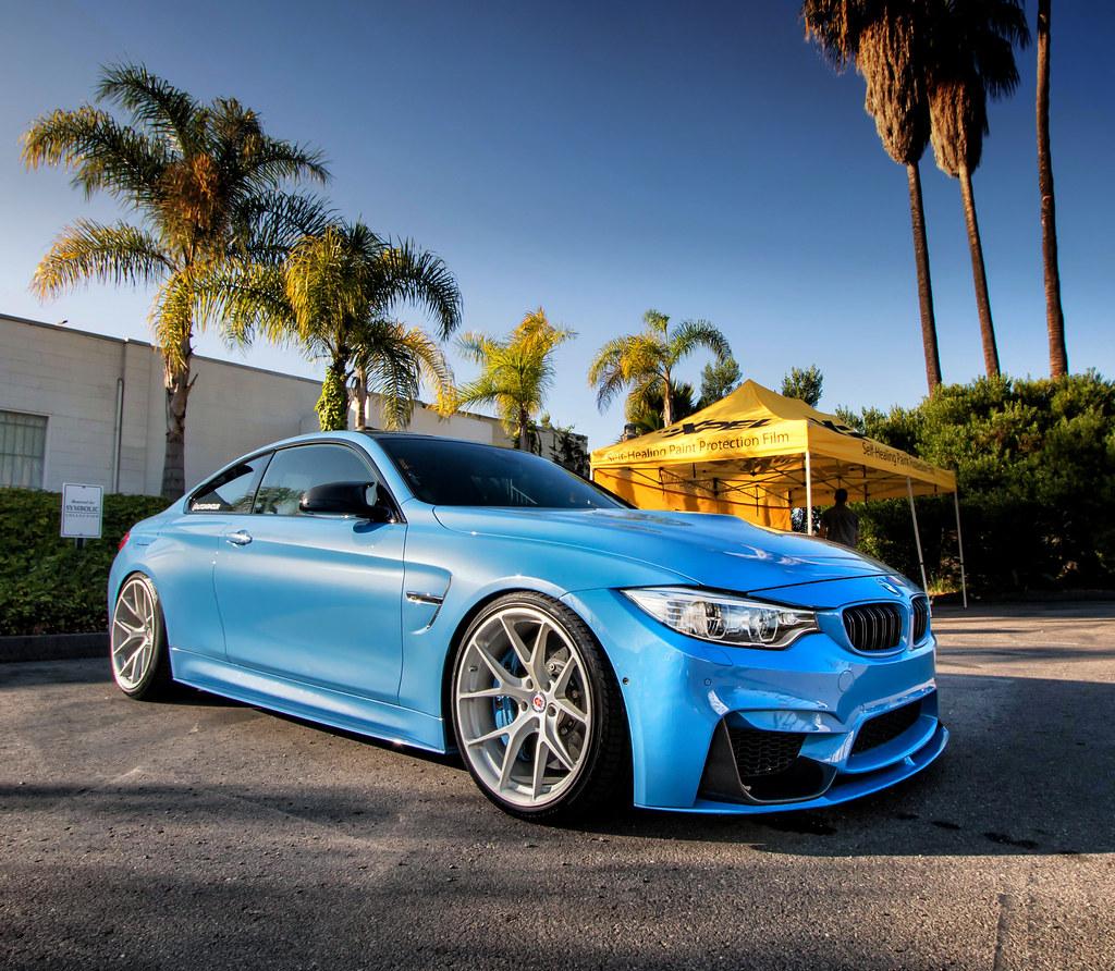 Bmw M4 Yas Marina Blue Take At Symbolic Motors Cars And