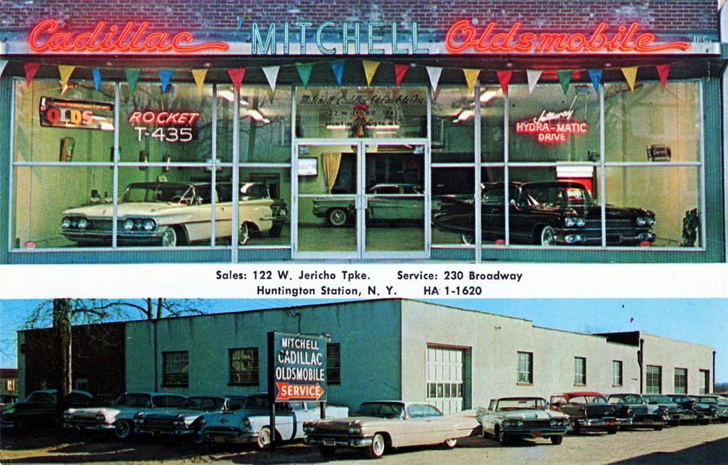 Mitchell Cadillac Oldsmobile Huntington Station Ny 1959