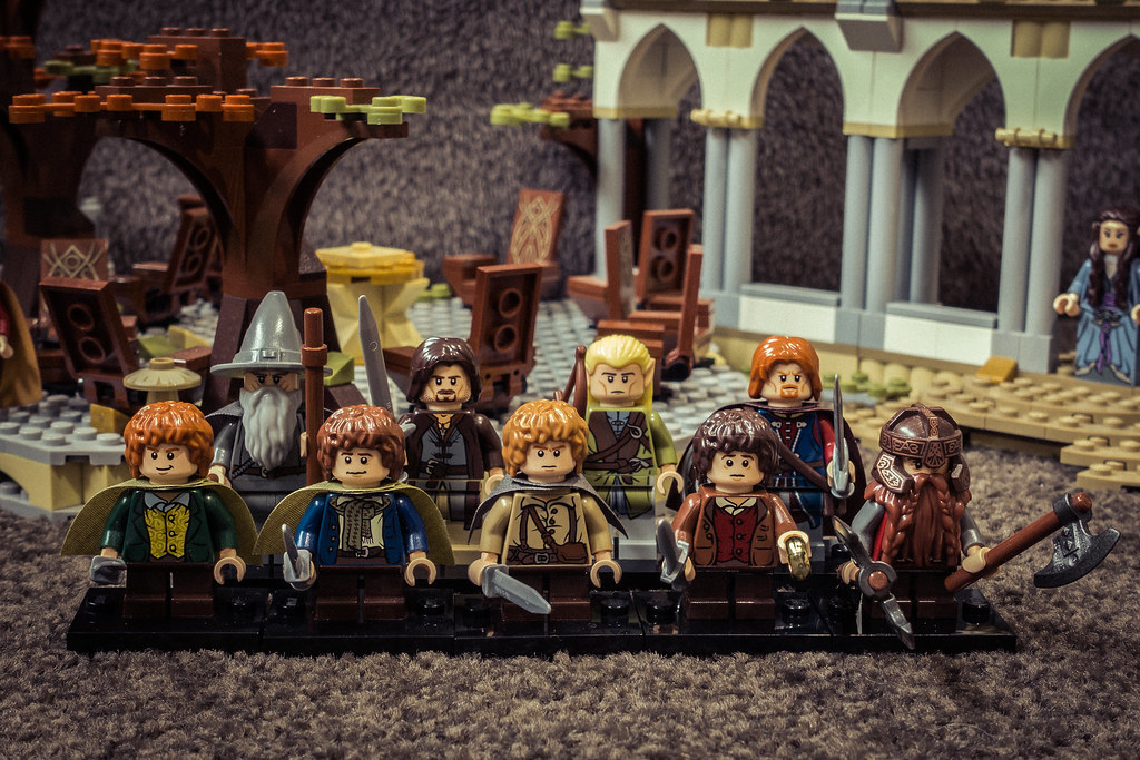 Lego Lord Of The Rings Game Youtube