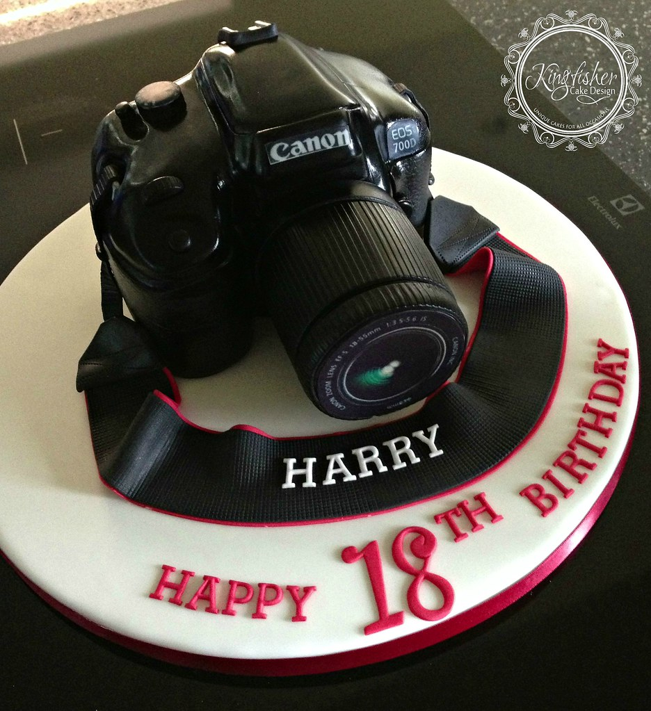 Canon Camera Cake I Managed To Lose All My Photos Of