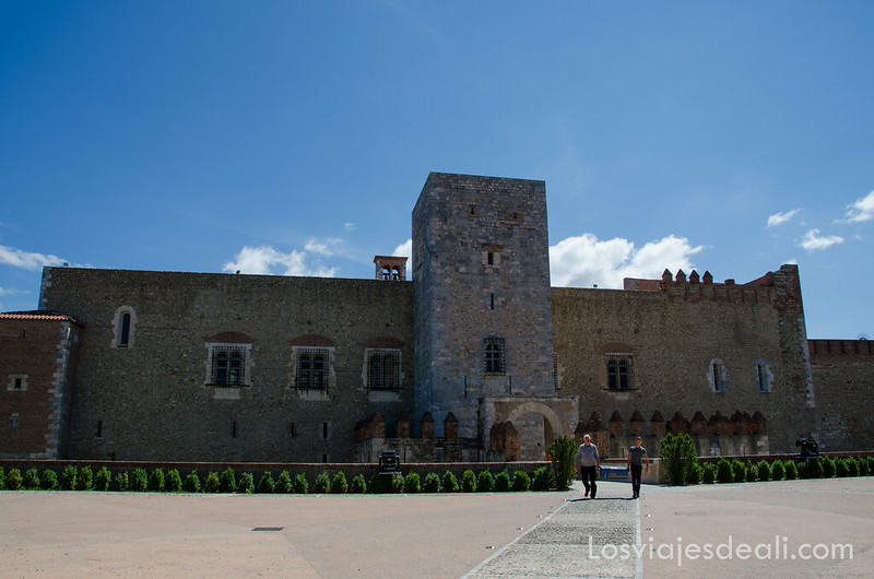qué ver en perpignan palacio de los reyes de Mallorca
