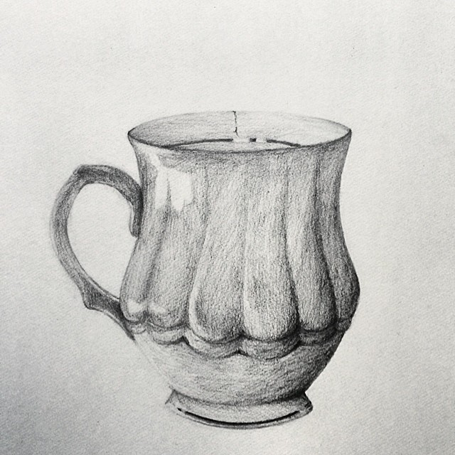 Shading Cake Drawing