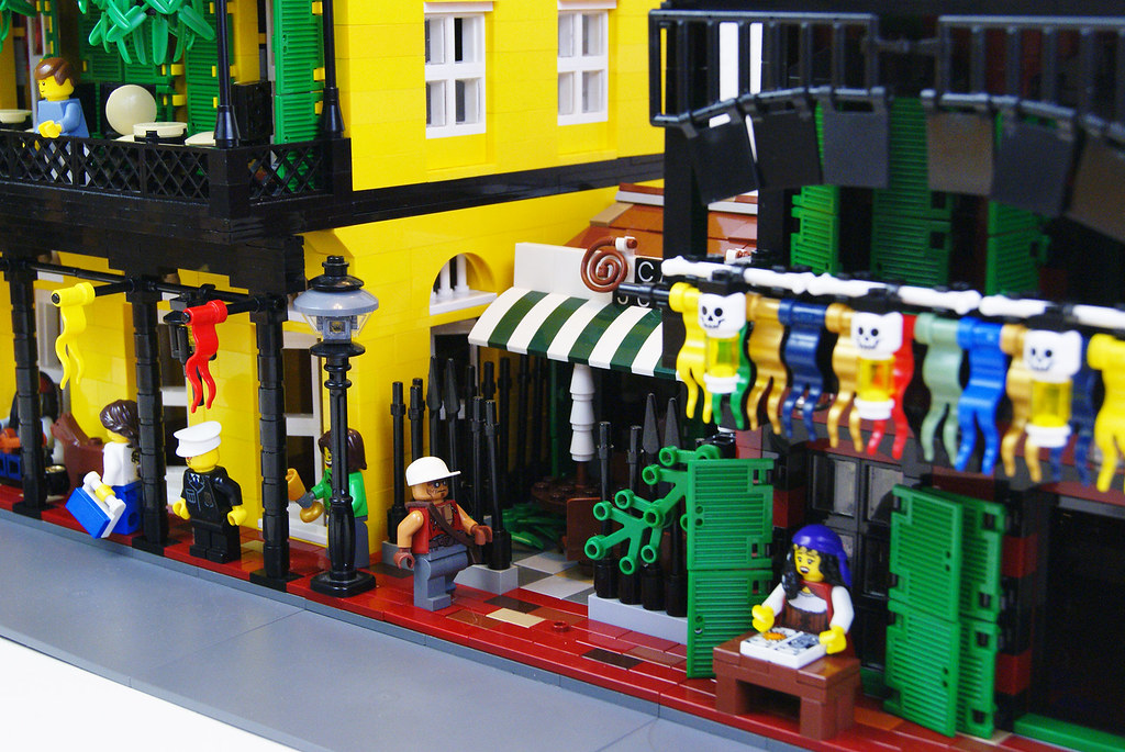 Street new orleans style 3 lego moc a moc inspired for Salon n 6 orleans