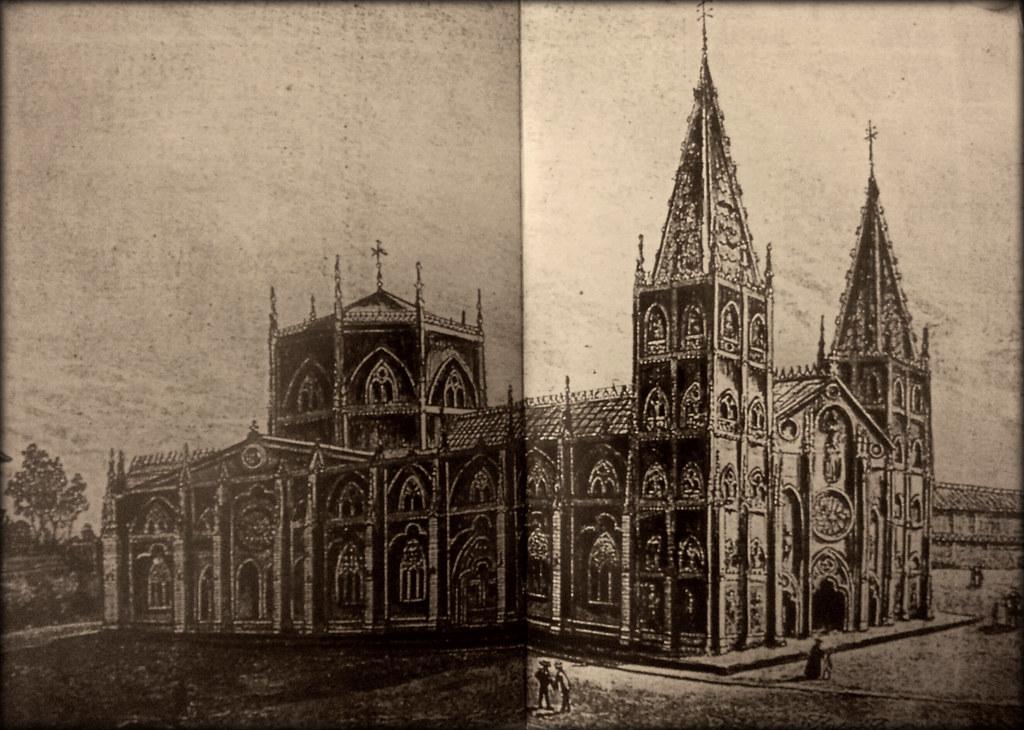 San Sebastian Church Drawing Basilica of San Sebastian