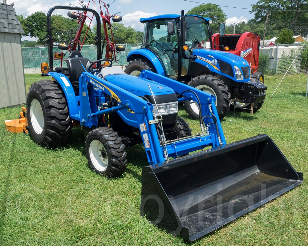 New Holland 110 Tl Front End Loader 2014 Warren County Fa